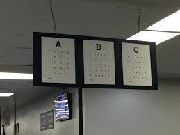 California Dmv Eye Chart 8 Dmv Vision Test For Class C Vehicles Nc Dmv Eye Chart