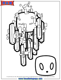 quality printable minecraft coloring pages free h m