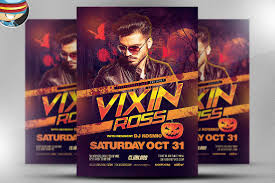 club flyer templates vixin halloween club flyer template flyer templates creative