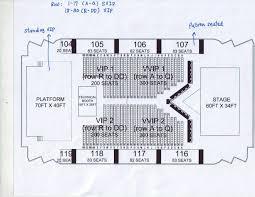Moa Seating Chart Rihanna Live In Manila At Moa Arena Diamonds World Tour