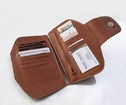 brown vegan women s wallet vegan wallet non leather wallet slim purse women cash envelope wallet gift for her super