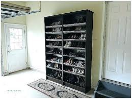 garage shoes racks