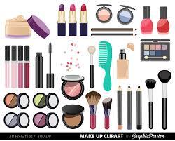 por items for make up clipart