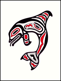 Pacific Native American Art Orca Killer Whale Pacific Northwest