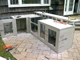 diy outdoor kitchen island how to build outdoor cabinets build outdoor kitchen frame throughout home design