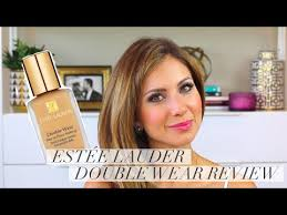 estee lauder double wear foundation review demo and wear test lisa j makeup audiomania lt