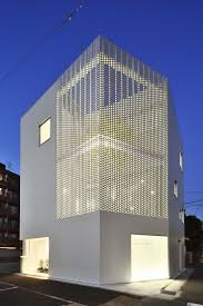 office facades. Perforated Building Facades That Redefine Traditional Design White House With A Facade. How To Office O