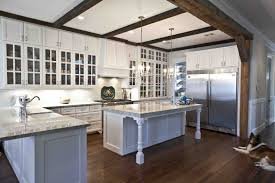 Cottage Kitchen Living Room French Country Cottage Decor Sloped Ceiling