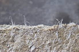 asbestos in ceiling tiles and wall