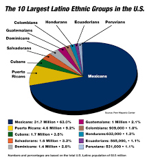 Census Pie Chart Hispanic Demographics Regional Hispanic Contractors
