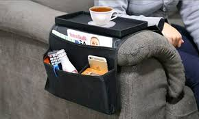 remote control organizer holder caddy arm chair sofa couch tv with armchair storage prepare 6