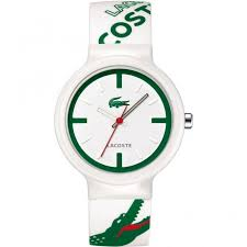 lacoste watches lacoste 2010522 men s goa white and green analogue lacoste watches lacoste 2010522 men s goa white and green analogue watch