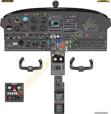 similiar cessna instrument panel poster keywords posters  training posters  piper pa34 seneca cockpit poster