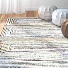 rose tufted rug ivory hand area round