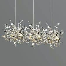 leaf chandelier silver leaf chandelier light loading zoom charles saunders oak leaf chandelier