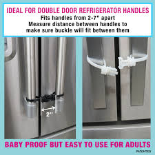 Kiscords Baby Safety Cabinet Locks For Handles Child Safety Cabinet