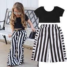 <b>1 6Y Toddler</b> Baby Girls <b>Summer</b> Fashion Clothes Sets 2PCS Short ...
