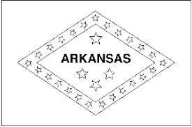 Small Picture ArkansasStateFlagColoringPagepng