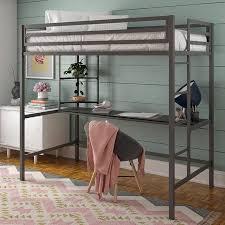 novogratz maxwell metal twin loft bed