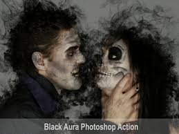 Black Aura Photoshop Action by KakDesign on Dribbble