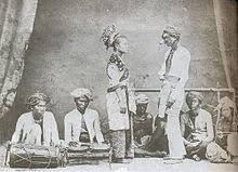 a troupe of siamese m dancers performing the mak yong during the reign of king rama v of siam c 19th century a dance theatre that owes its origin
