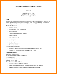 10 Orthodontist Resume Address Example India Receptionist Templates