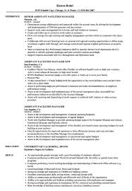 Facility Coordinator Jobs Resumes Resume Cover Letter Facilities