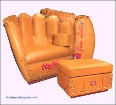 baseball glove chair best custom baseball glove swivel chair valley