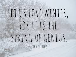 Image result for winter nature quote
