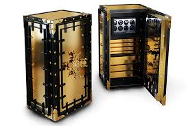 steampunk inspired furniture.  Inspired Steampunk And Goldfinger Inspired Luxury Safes By Boca Do Lobo With Inspired Furniture