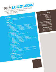 30 beautiful designer s one page resume samples the design work resume