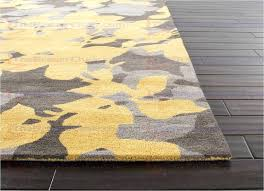 blue and yellow area rug blue orchid hand tufted fl pattern wool yellow gray area rug