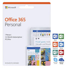 Microsoft Office 365 Pricing Microsoft Office 365 Personal 1 Person 12 Months Download