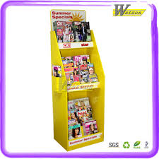 Cardboard Book Display Stands Custom Cardboard Book Display Standsshelves Displaynotebook 24