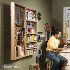 get hanging storage and shelving with this two hour project