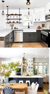 Painting Kitchen Cabinets Dark Bottom Light Top 25 Gorgeous Kitchen Cabinet Colors Paint Color Combos