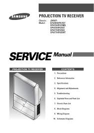 samsung sp43t7hpx bwt tv service repair and 14 similar items samsung sp43t7hpx bwt tv service repair manual