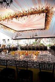 suspended wedding centerpieces fl chandeliers