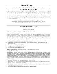 Recruiter Resume Template