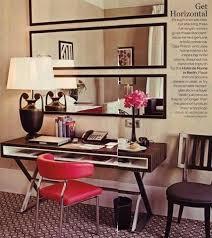 big horizontal wall mirror
