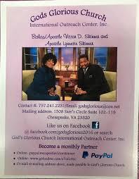 Gods Glorious Church International Outreach Center, Inc. - Posts   Facebook