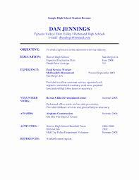 Resume Format Blank Download Inspirational Free Resume Templates