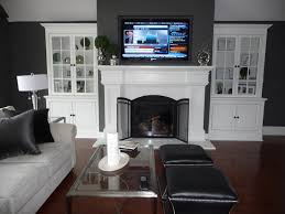 Framed Tv Above Fireplace Installed New Zero Clearance Fireplace Unit Framed Wall Enclosure