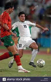 Soccer - Athens Olympic Games 2004 - Men's First Round - Group D - Iraq v  Portugal Stock Photo - Alamy