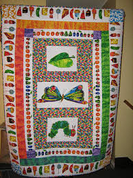 The Very Hungry Caterpillar quilt - a photo on Flickriver & The Very Hungry Caterpillar quilt Adamdwight.com