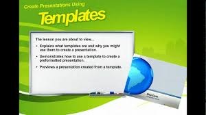 microsoft powerpoint 2010 templates powerpoint 2010 create presentations using templates microsoft