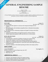chemical engineering resume sample resumecompanioncom resume general engineering resume format for chemical engineer