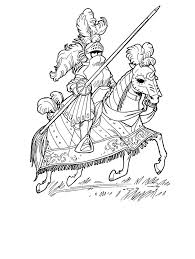 Small Picture 55 best Knight Coloring Pages images on Pinterest Knight