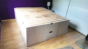 Storage Bed Ikea Hack Prepossessing In Designing Home Inspiration