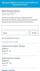 qatar airways cabin crew interview questions screenshot 4